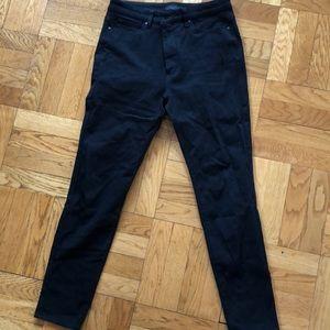 Black uniqlo jeans great condition!